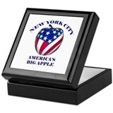 America's Big Apple Keepsake Box
