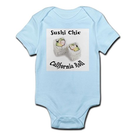 Sushi Chic California Roll Infant Creeper
