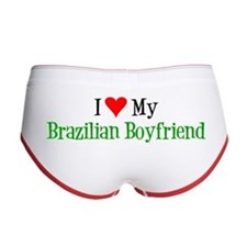 I Love My Brazilian Boyfriend Women's Boy Brief
