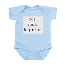 Res Ipsa Loquitur Infant Body Suit