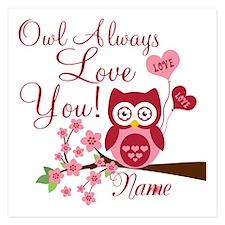Owl Always Love You 5.25 x 5.25 Flat Cards