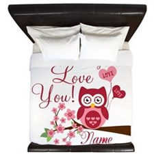 Owl Always Love You King Duvet