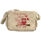 Owl always love you Bags & Totes