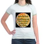 Sands of the World: Faith Jr. Ringer T-Shirt