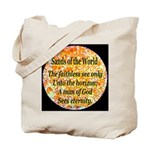 Sands of the World: Faith Tote Bag