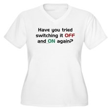 Switch On/Off. T-Shirt