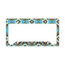 Native American Design Wind License Plate Holder