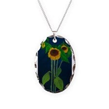 Donna's Sunflowers Necklace