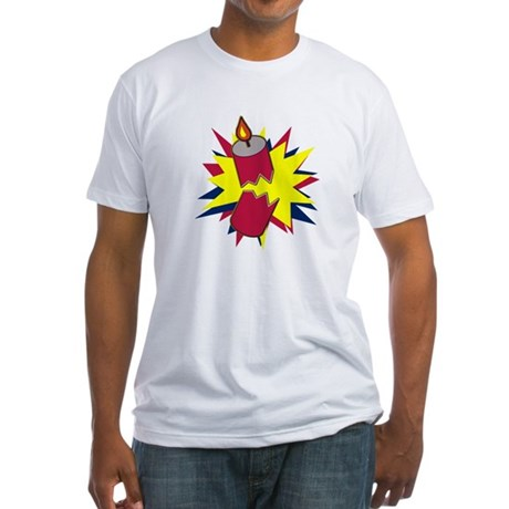 Firecracker Fitted T-Shirt