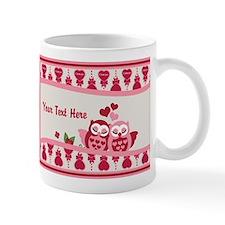 Cuddling Love Owl Mugs