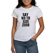 Size Zero Phrase Tee