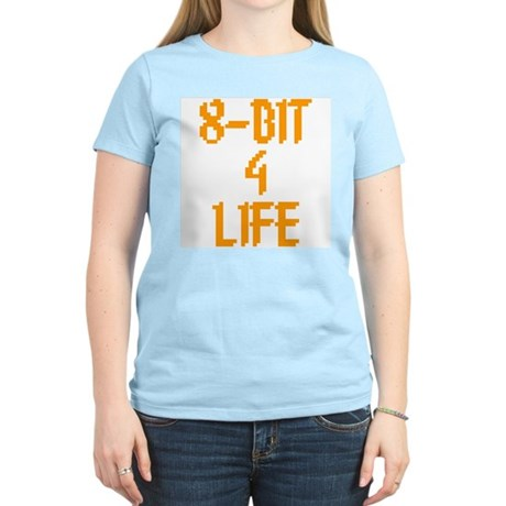 8-Bit 4 Life Womens Light T-Shirt