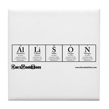 Allison Tile Coaster