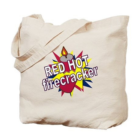 Red Hot Firecracker Tote Bag