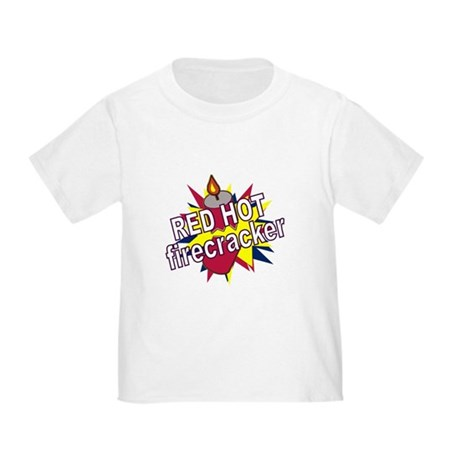 Red Hot Firecracker Toddler T-Shirt