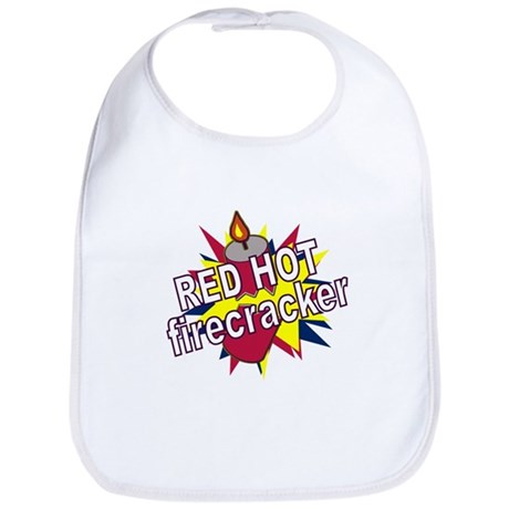 Red Hot Firecracker Bib