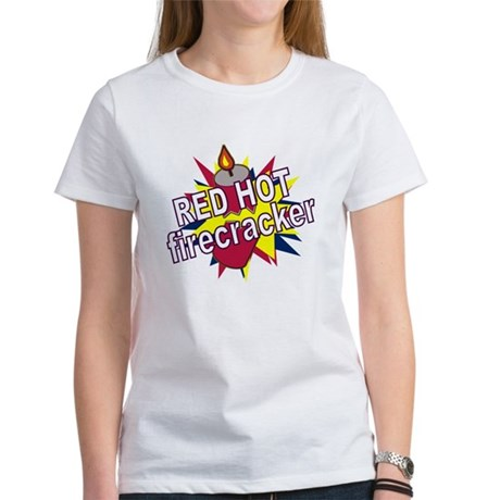 Red Hot Firecracker Women's T-Shirt