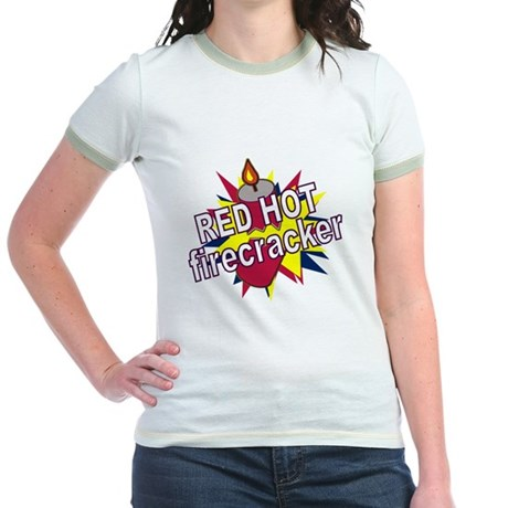 Red Hot Firecracker Jr. Ringer T-Shirt