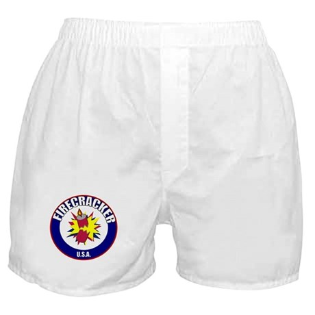 USA Firecracker Boxer Shorts