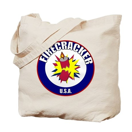 USA Firecracker Tote Bag