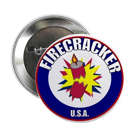 "USA Firecracker 2.25"" Button (10 pack)"