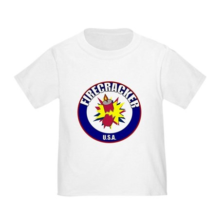 USA Firecracker Toddler T-Shirt