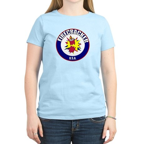 USA Firecracker Women's Light T-Shirt
