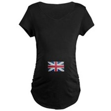 Union Jack Grunge Distressed British Flag Maternit