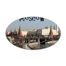 Moscow_7.5x5.5_FlatCard_Krem 35x21 Oval Wall Decal