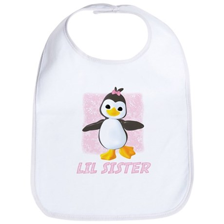 Happy Penguin Little Sister Bib
