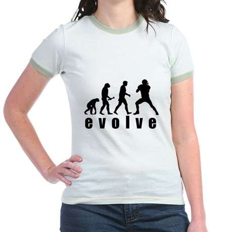 Evolve Football Jr. Ringer T-Shirt