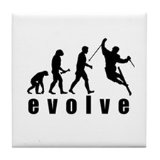 Evolve Skiing Tile Coaster