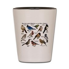Backyard Birds of the Bay Area Shot Glass