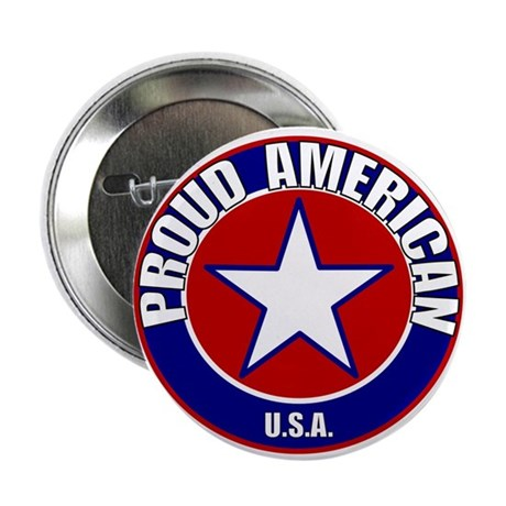 "Proud American 2.25"" Button (100 pack)"