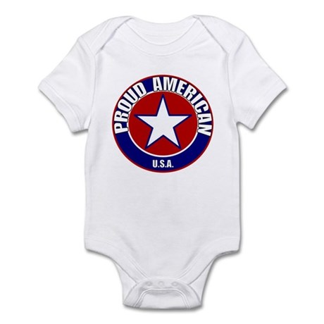 Proud American Infant Bodysuit