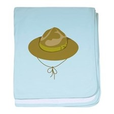 Scout Hat baby blanket