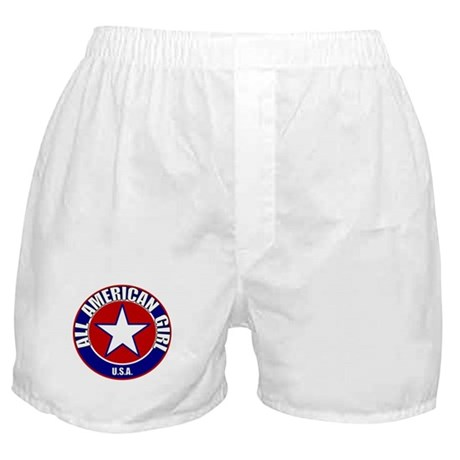 All American Girl Boxer Shorts