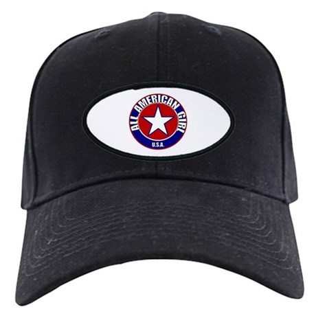 All American Girl Black Cap