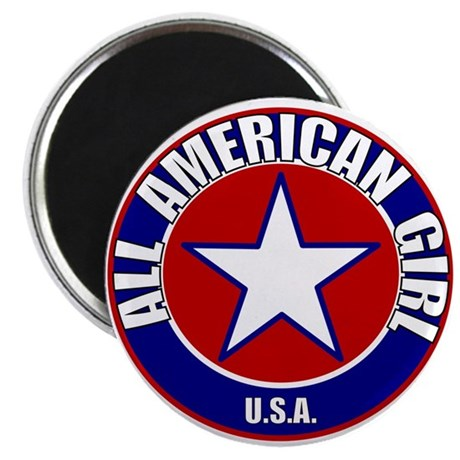 All American Girl Magnet