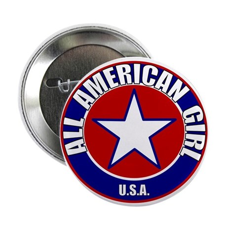 All American Girl Button
