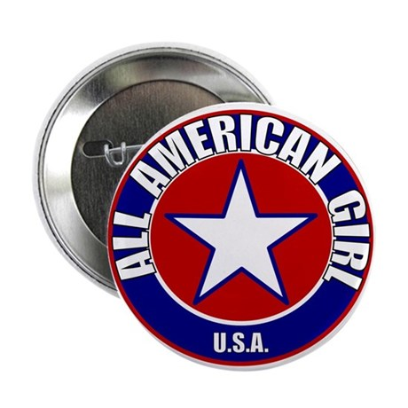 "All American Girl 2.25"" Button (10 pack)"