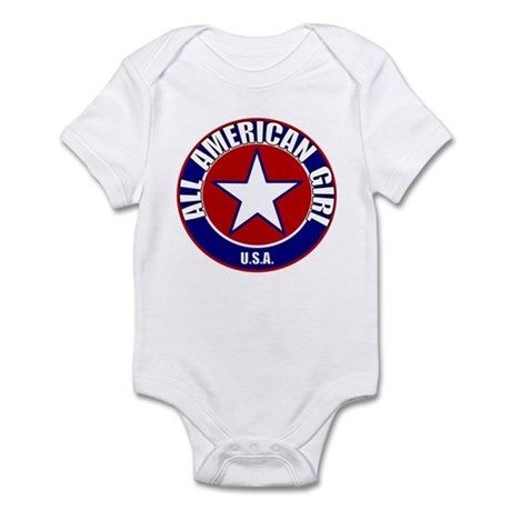 All American Girl Infant Bodysuit