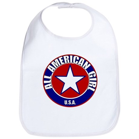 All American Girl Bib
