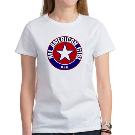 All American Girl Women's T-Shirt