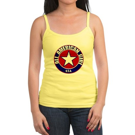 All American Girl Jr. Spaghetti Tank