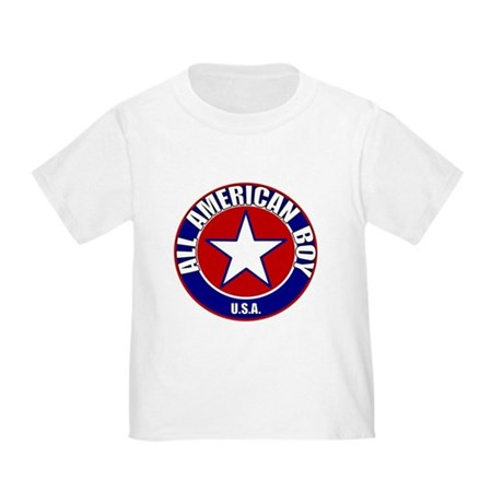 All American Boy Toddler T-Shirt