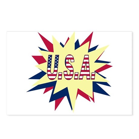 Starburst USA Postcards (Package of 8)