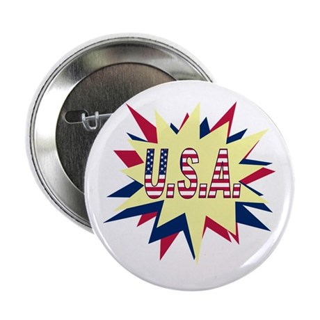 Starburst USA Button