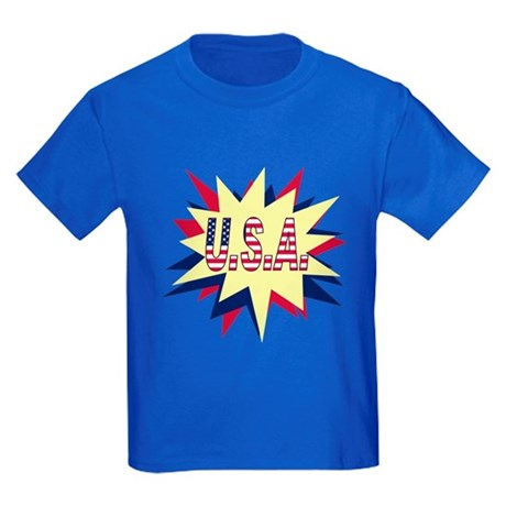 Starburst USA Kids Dark T-Shirt