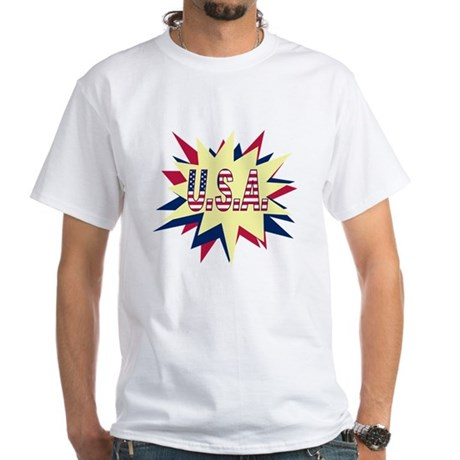 Starburst USA White T-Shirt
